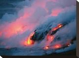Clouded Lava Eruption