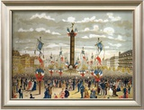 Celebration of the Quatorze Juillet at the Place de La Bastille  Paris  14th July 1880