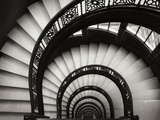 Cage d'escalier de The Rookery, Chicago Reproduction d'art par Jim Christensen