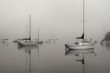 Across the Lake - BW