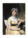 Portrait of Jane Austin  English Novelist