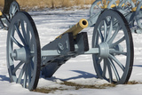 Artillery Defending the Continental Army Winter Camp at Valley Forge  Pennsylvania