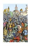 Capture of Bertrand De Guescelin in the Battle of Auray  1364