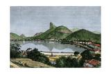 Harbor of Rio De Janeiro  Brazil  1870s
