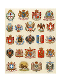 National Coats of Arms of Selected Countries  1800s