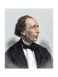 Portrait of Author Hans Christian Andersen