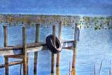 Boat Dock Pastel
