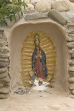 Our Lady of Guadalupe Niche Statue  St Francis of Assisi Churchyard  Ranchos De Taos  New Mexico