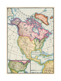 North America at the Close of the Revolution - Treaty of Paris  1783