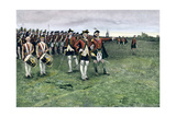 General Wolfe Assembling the British Army on the Plains of Abraham to Take Quebec  1759