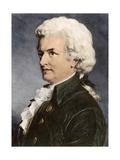 Portrait of Wolfgang Amadeus Mozart