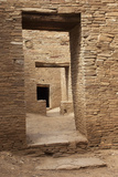 Doorways Inside Pueblo Bonito  an Anasazi/Ancestral Puebloan Site in Chaco Canyon  New Mexico