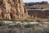 Anasazi/Ancestral Puebloan Ruins of Chetro Ketl in Chaco Canyon  New Mexico