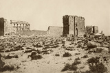 Ruins of the Temples of Ancient Tadmor in Syria  1800s