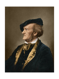 Portrait of Composer Richard Wagner