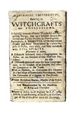 "Cotton Mather  ""Memorable Providences Relating to Witchcrafts "" Title Page  1689"