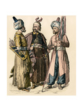 Turkish Soldiers  First Half of the 18th Century