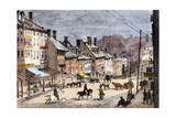 High Street in Richmond  Virginia  During the Civil War  1862