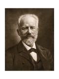 Russian Composer Pyotr Ilich Tchaikovsky