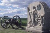 Memorial to the 15th New York Battery  Gettysburg Battlefield