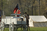 Confederate Camp Reenactment  Shiloh National Military Park  Tennessee