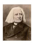 Hungarian Composer and Conductor Franz Liszt
