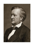 Photograph of Composer Richard Wagner