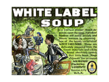 Advertisement for Armour's White Label Soup  1890s