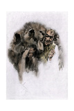 Loup-Garou  a French-Canadian Werewolf Legend  1800s