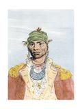 Portrait of Creek Leader Alexander Mcgillivray  Late 1700s
