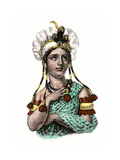 Dona Marina  La Malinche  Native Interpreter for Hernando Cortes  Spanish Conquest of Aztec Mexico