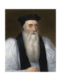Thomas Cranmer  Archbishop of Canterbury  Executed for Heresy under Mary I