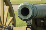 Muzzle of a Model 1841 6-Pounder Smoothbore Cannon  Shiloh National Military Park  Tennessee