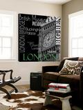 Londres Toile Murale Géante par Top Creation