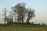 Location of Pickett's Charge Against the Union Position on Cemetery Ridge  Gettysburg  PA