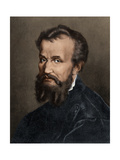 Portrait of Artist Michelangelo