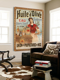 Huile d'Olive Toile Murale Géante par Studio Clicart