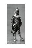 1900s France Le Theatre Magazine Plate