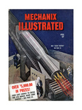1940s USA Mechanix Illustrated Magazine Cover