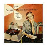 1950s USA Steno-Disc Album Cover