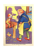 1930s UK Pinocchio Book Plate