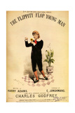 1880s UK The Flippity Flop Young Man Sheet Music Cover