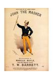 1880s UK John The Master Sheet Music Cover
