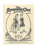 1930s UK The Schoolgirls Own Comic/Annual Cover