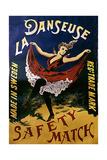 1920s France La Danseuse Label