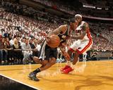 Miami  FL - June 20: Kawhi Leonard and LeBron James