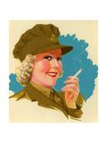 1940s UK Pinups Poster