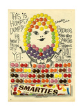1960s UK Smarties Magazine Advertisement