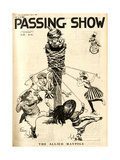1910s UK Passing Show Magazine Cover