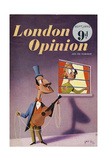 1950s UK London Opinion Magazine Cover